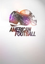 American football background Royalty Free Stock Photos