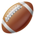 American football ball Royalty Free Stock Images