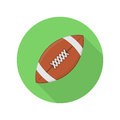 American football ball icon.