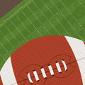 American football design over green background vector illustration Royalty Free Stock Photos