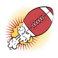American football design over white background vector illustration Stock Photography