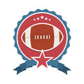 American football design over white background vector illustration Stock Photo