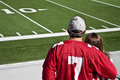 American Football Fans Stock Photos