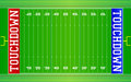 American Football Field NFL EPS Stock Photography