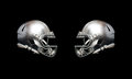 American football helmet Royalty Free Stock Photo