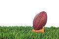 American football kickoff Royalty Free Stock Photography