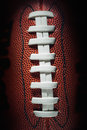 American football laces and texture Royalty Free Stock Photo