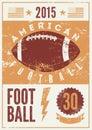 American Football Typographica...