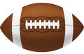 American football vector illustration of an Royalty Free Stock Photos