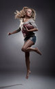 image photo : American football woman