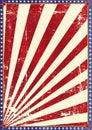American grunge background Royalty Free Stock Photo
