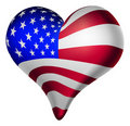 American hearts and minds Stock Photo
