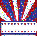 American holidays background with flag colors Royalty Free Stock Image