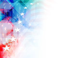 American independence day background or concept th of july colorful with shiny stars Stock Photo