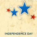 American independence day background or concept th of july vintage with stars Royalty Free Stock Images