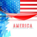 American independence day background design Royalty Free Stock Photography