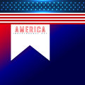 American independence day background stylish design Stock Photos