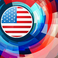 American independence day background vector abstract Royalty Free Stock Photos