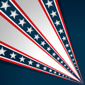 American independence day background vector design Royalty Free Stock Image