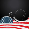 American independence day background vector th of july design Stock Images