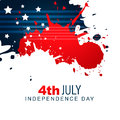 American independence day design vector creative background Stock Photos