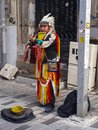 American Indian playing Musical Instruments Istanbul