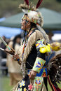 American Indian at UCLA Pow Wow Royalty Free Stock Photos