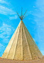 American Indian wigwam Royalty Free Stock Images
