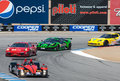 American Le Mans Series Monterey Royalty Free Stock Photos