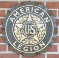 American Legion of the United States Emblem Royalty Free Stock Photo