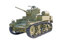 American Light Tank WWII, Stuart M3A1 Royalty Free Stock Photo