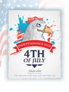 American national bird eagle for Independence Day celebration. Royalty Free Stock Photo
