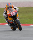 American Nicky Hayden of Repsol Honda Team Royalty Free Stock Image