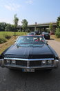 American oldtimer black buick in the streets of germany Stock Photos