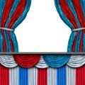 American Politics Blank stage