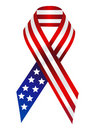 American Ribbon Royalty Free Stock Images