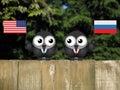 American Russian Leaders