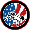 American Soap box derby car Stock Images