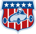 American Soap box derby car Royalty Free Stock Photo
