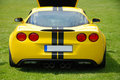 American sports car Royalty Free Stock Photo