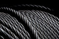 American steel cable ready to work Royalty Free Stock Photo