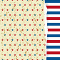 American striped pattern Royalty Free Stock Photos