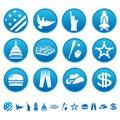 American symbols Royalty Free Stock Photo