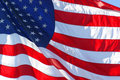 American or United States Flag Royalty Free Stock Photography