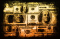 American US Dollars Currency Abstract Royalty Free Stock Photography