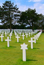 American War Cemetery Royalty Free Stock Image