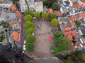Amersfoort from above Royalty Free Stock Photo