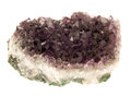 Amethyst on white Royalty Free Stock Photos