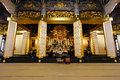 Amida Buddha at Honganji Temple in Tokyo Royalty Free Stock Photo