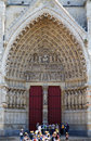 Amiens Cathedral France 6 Stock Image